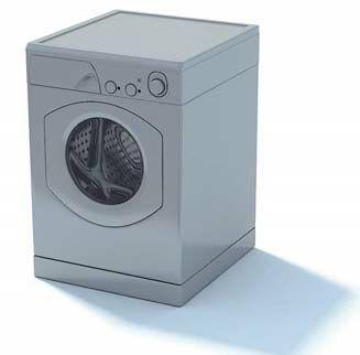 دوخت دکمه ریلی آبجکت ماشین لباسشویی