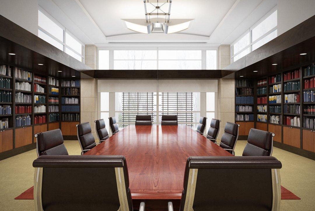 دانلود رندر اتاق جلسه آفیس