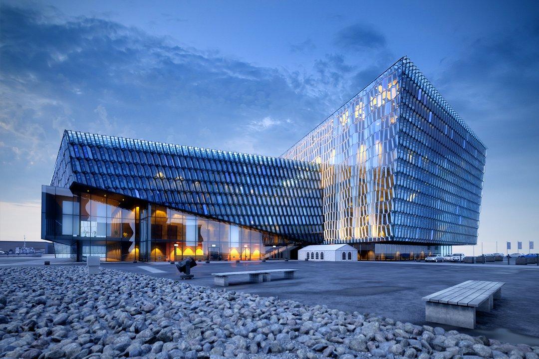دانلود رندر ساختمان فانتزی شیشه