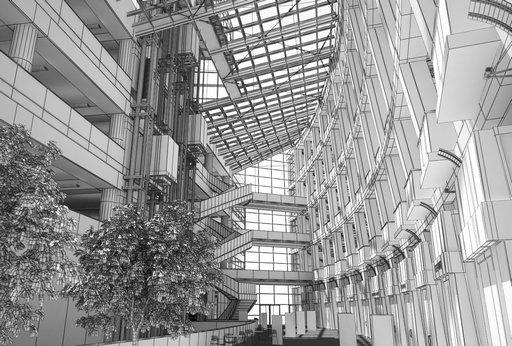 دانلود رندر مرکز خرید فرودگاه مرکز تجاری خرید مدل آماده رندر تری دی مکس وی ری