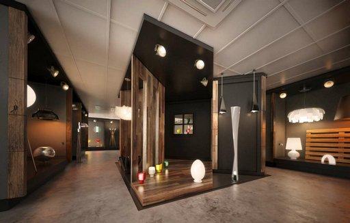 دانلود رندر شوروم نمایشگاه فروشگاه مدرن مدل آماده رندر تری دی مکس وی ری