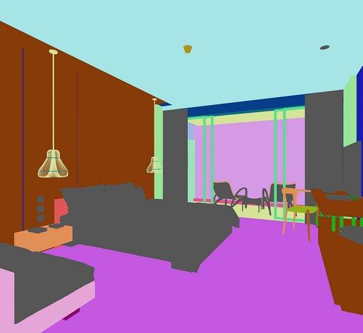 دانلود رندر اتاق هتل تختخواب تلویزیون آباژور مدل آماده رندر