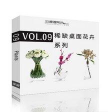 دانلود مدل گلدان گل دسته گل