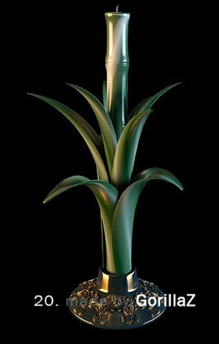 مدل شمع جاشمعی کلاسیک استیل مدرن