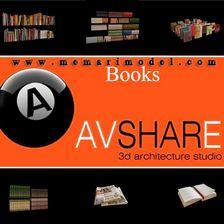 مدل کتاب کتابخانه