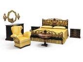 مدل تخت استیل سرویس استیل کلاسیک پرده مبل کلاسیک استیل