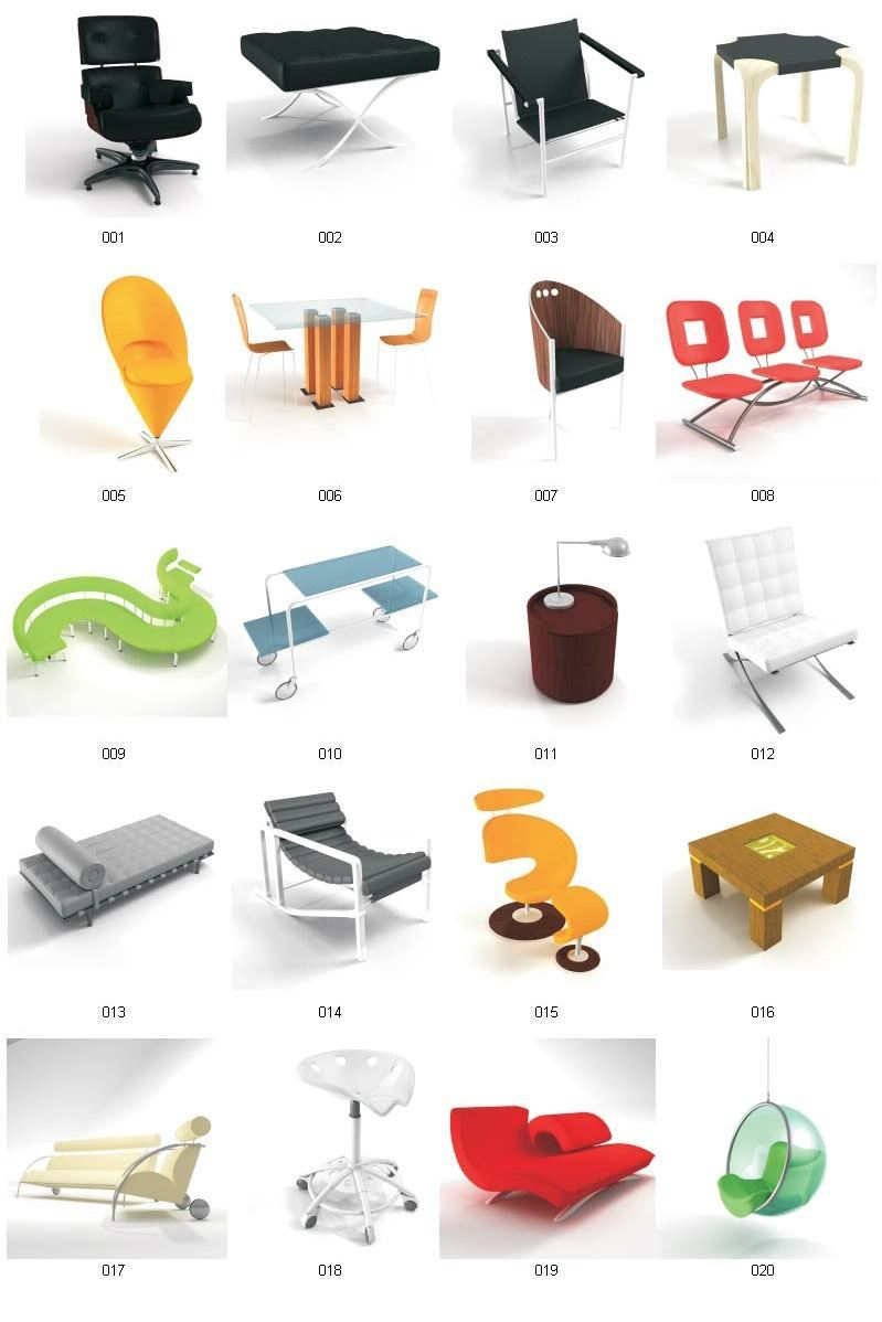 for Furniture 3d design