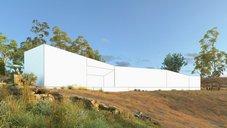 دانلود رندر ویلا طبیعت چمنزار لندسکیپ ویلا جنگل درخت حیاط فضای سبز رودخانه دریا برکه استخر چمن بالن صخره رندر آماده نورپردازی روز صحنه خارجی