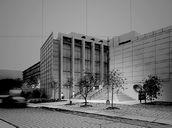 محیط صحنه آماده رندر خارجی شب روز برج آسمان خراش شیشه برج العرب ویلا باغ شرکت تجاری موزه
