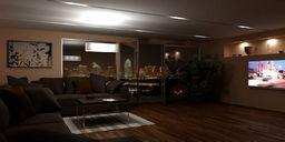 محیط صحنه آماده رندر داخلی ویلا جنگلی اتاق نشیمن پذیرایی آشپزخانه فرودگاه کافی شاپ رستوران حمام دستشویی بار کلوپ شبانه