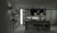 محیط صحنه آماده رندر داخلی آشپزخانه اداری اتاق نشیمن پذیرایی اتاق خواب حمام دستشویی