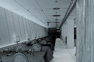 محیط صحنه آماده رندر داخلی اتاق نشیمن پذیرایی رستوران استخر سرپوشیده ویلا آشپزخانه