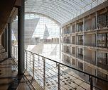 محیط صحنه آماده رندر داخلی اتاق نشیمن پذیرایی کتابخانه مرکز خرید ویلا استخر سر پوشیده