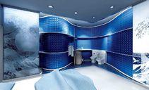 محیط صحنه آماده رندر داخلی اتاق نشیمن پذیرایی آشپزخانه مدرن کلاسیک دستشویی حمام