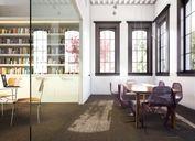 محیط صحنه آماده رندر داخلی اتاق نشیمن پذیرایی آشپزخانه کتابخانه اتاق کنفرانس اداری سیلو