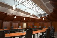 محیط صحنه آماده رندر داخلی محیط کار مدرن اتاق مدیرعامل شرکت طراحی مینیمال اتاق جلسات کتابخانه اتاق کارمند