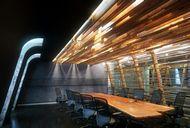 دانلود رندر اتاق جلسات میز چوبی دکوراسیون مدرن لابی هتل دکوراسیون کلاسیک اتاق جلسات میز شیشه ای میز سنگی سالن کنفرانس ویدئو کنفرانس