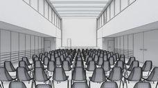دانلود رندر کلاس درس آمفی تئاتر سینما سالن کنفرانس سینما سالن اجلاس سالن سخنرانی میز کنفرانس چوبی مدرن آفیس فلت اداره سالن جلسات