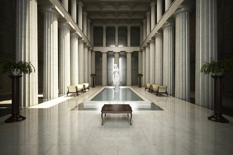 محیط صحنه آماده رندر داخلی کلیسا دستشویی حمام اداری طلا فروشی راه پله اتاق نشیمن پذیرایی سالن سوله