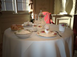 مدل قوری فنجان بشقاب لیوان صبحانه ناهار عصرانه دسر دسته گل