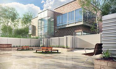 مدل تزئین پارک باغ چمن نرده نیمکت دروازه پیاده رو آلاچیق پل