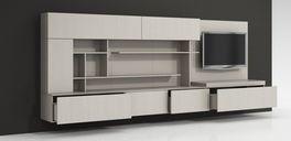 مدل وسایل دکوری ترئینی خانه زیر تلویزیون چوبی شیشه استیل گل میز قفسه کتابخانه دستگاه پخش تلویزیون سینمای خانگی