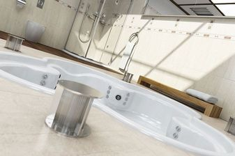 مدل حمام دستشویی اسپا وان دوش جکوزی سونا