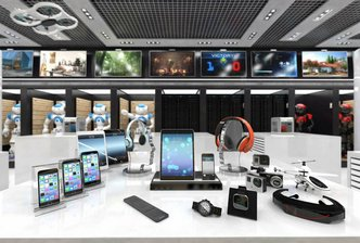 مدل سه بعدی لپتاپ موبایل کنسول بازی وسایل الکترونیکی PC مک وبکم پرینتر سه بعدی آی پد آی فون رادیو دوربین ساعت هدفون کوادکوپتر هلیکوپتر ربات تلویزیون LCD LED