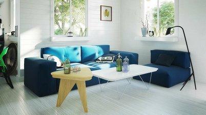 مدل سه بعدی وسایل مدرن منزل خانه صندلی مبل آباژور میز کار چوبی چرمی