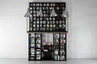 مدل سه بعدی قفسه فروشگاه کتابخانه دکوری کتابخانه تزئینی خانه مدرن کلاسیک دکور خانه اتاق نشیمن