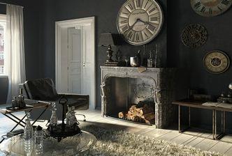 مدل سه بعدی دکوراسیون داخلی تزئینات مدرن کلاسیک ساعت گل گلدان لیوان بطری ست قاشق چنگال آباژور شمع ست دستشویی حمام