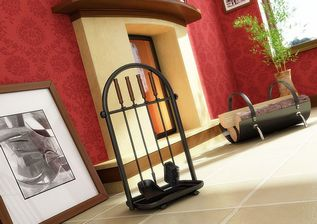 مدل وسایل تزئینی خانه منزل شومینه شمعدان ساعت قاب عکس سطل آشغال
