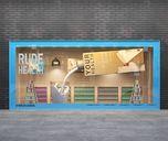 مدل سه بعدی ویترین فروشگاه گوشت پوشاک فروشگاه کتاب ویترین فروشگاه نان ویترین فروشگاه لباس مانکن