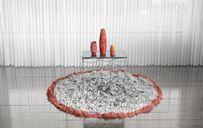 مدل سه بعدی کفپوش شگی قالی دکور منزل خانه پتو صندلی خز