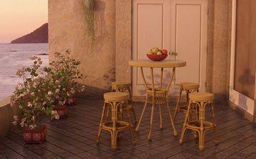 مدل وسایل رستوران میز صندلی فرفروژه