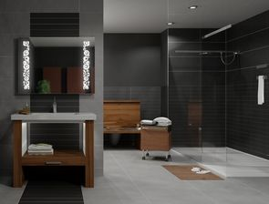 مدل حمام دستشویی توالت فرنگی حوله صابون آینه زباله دان سطل آشغال سشوار وان دوش
