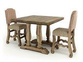 مدل مبلمان آمریکایی چوبی میز ناهارخوری صندلی کمد کتابخانه دراور