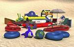 مدل پارک آبی سرسره توپ قایق تاب قصر توپ کودکان