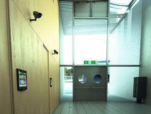 مدل وسایل امنیتی منزل خانه آنتن وایرلس آیفون تصویری دوربین مدار بسته کرکره برقی فروشگاهی سایبان پنجره سطل آشغال صندوق پست