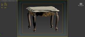 دانلود مدل سه بعدی کلاسیک مبل میز صندلی ساعت پاندولی