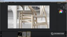 فیلم آموزش اورموشن نشیمن آشپزخانه وی ری رندر نورپردازی رندرینگ مدلینگ تکسچرینگ طراحی دوربین پست پپروداکشن