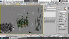 فیلم آموزش نورپردازی چهار فصل رندر بیرونی خارجی وی ری تری دی مکس چمن ForestPro ساخت برف SnowFlow Pro آموزش HDRI شرکت ویزکوربل