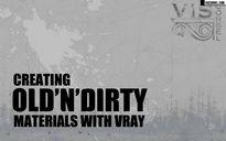 فیلم آموزش ساخت متریال وی ری قدیمی کثیف گل خاک تری دی مکس شرکت ویزکوربل
