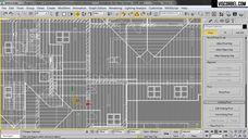 فیلم آموزش ساخت رندر واقعی خارجی طراحی در اتوکد مدلسازی ساختمان ساخت چمن نورپردازی آفتابی ابری شب وی ری تری دی مکس شرکت ویزکوربل