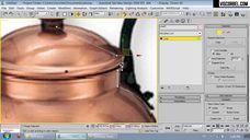 فیلم آموزش ساخت آشپزخانه کلاسیک مدل سازی نورپردازی تکسچر پست پروداکشن وی ری تری دی مکس شرکت ویزکوربل