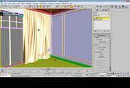 فیلم آموزش ساخت اتاق خواب مدل سازی نورپردازی تکسچرینگ متریال تری دی مکس وی ری شرکت ویزکوربل