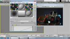 فیلم آموزش نورپردازی وی ری تری دی مکس استودیو تک آبجکت شرکت ویزکوربل